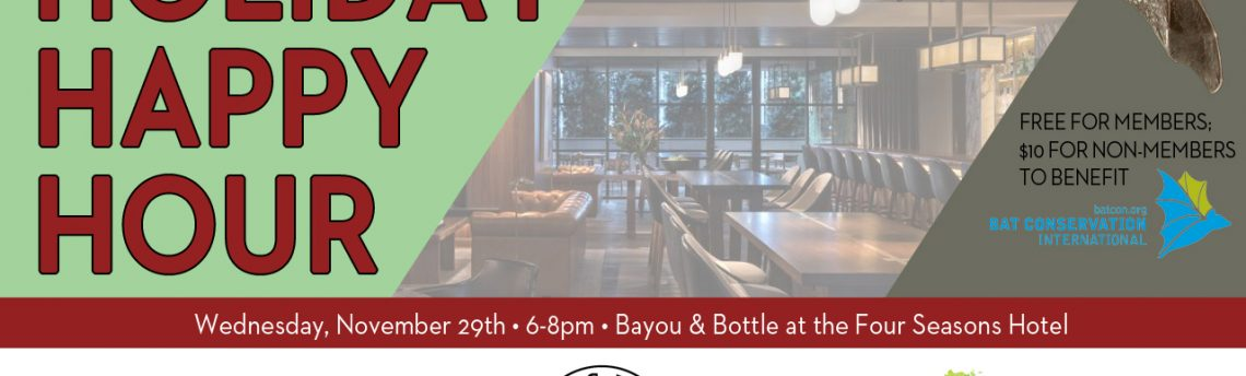 Holiday Happy Hour with Evergreen & Bayou Buddies